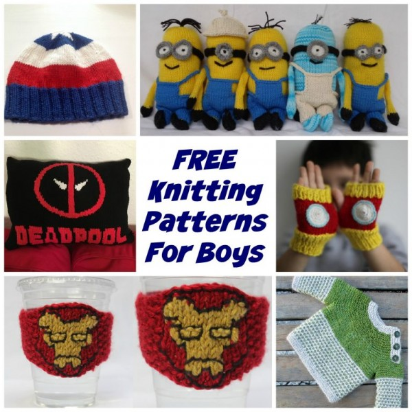 Do You Knit for Boys Check out This Great Collection of Patterns