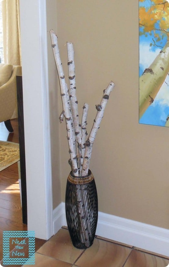 Decorating with Birch Branches