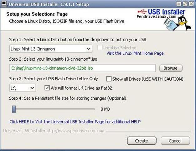 Как сделать загрузочную линукс флешку