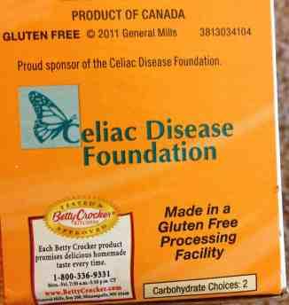 gluten free bisquick label
