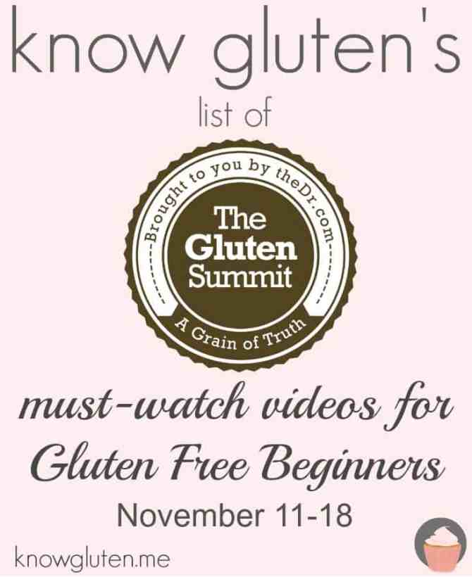 know gluten's list of must watch videos for the gluten summit november 11-18
