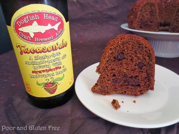 It's beer, it's cake... Gluten free bloggers are the best