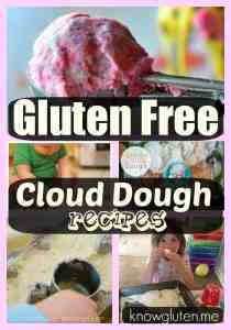find gluten free cloud dough recipes on knowgluten.me