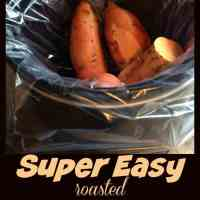 Super Easy Roasted Sweet Potatoes in the Crock Pot