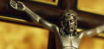 Close-up of a crucifix