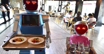 Robots will use us as furniture