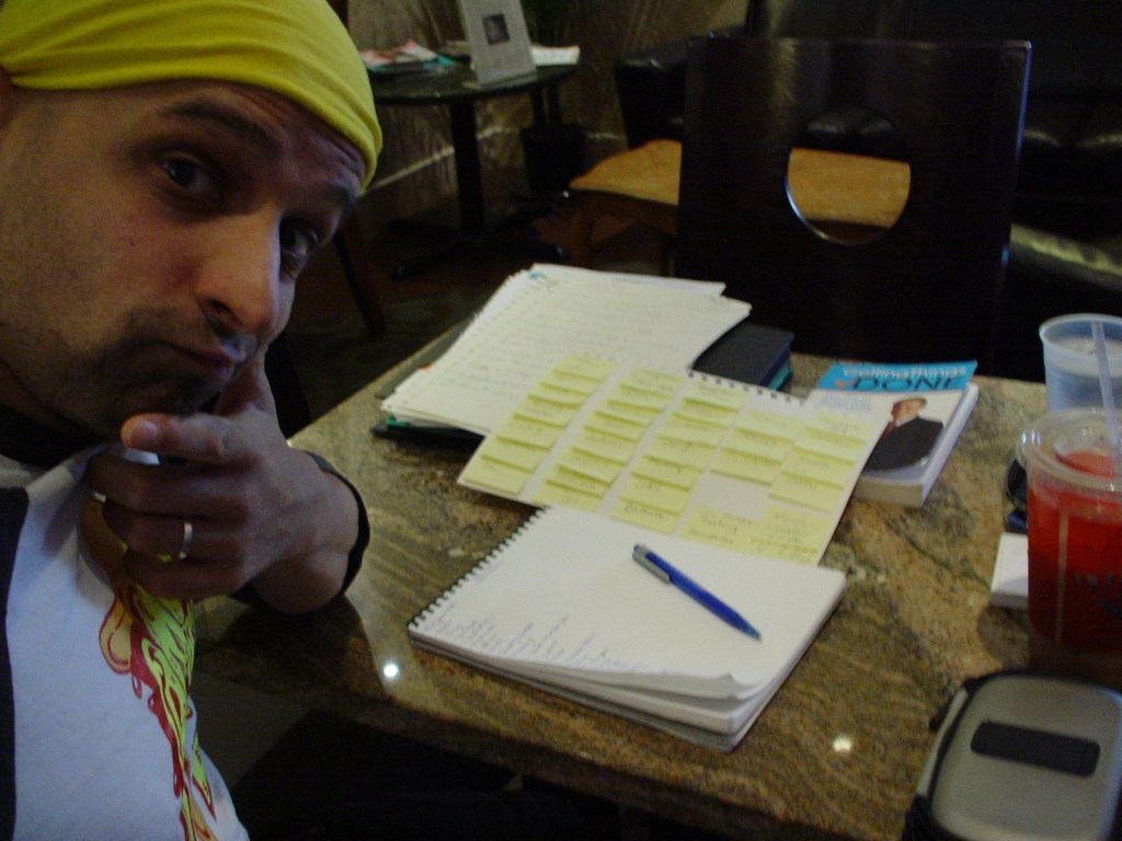 Eshan brainstorming in Denver, Colorado