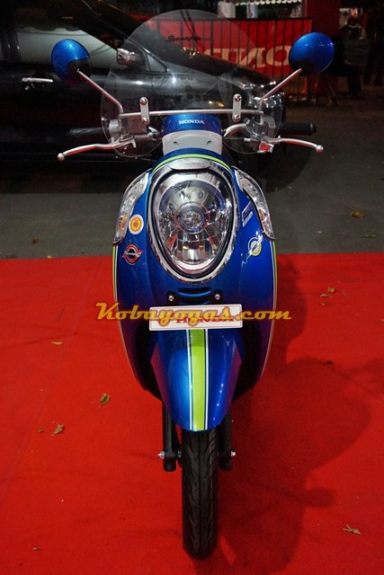 New Scoopy esp iss