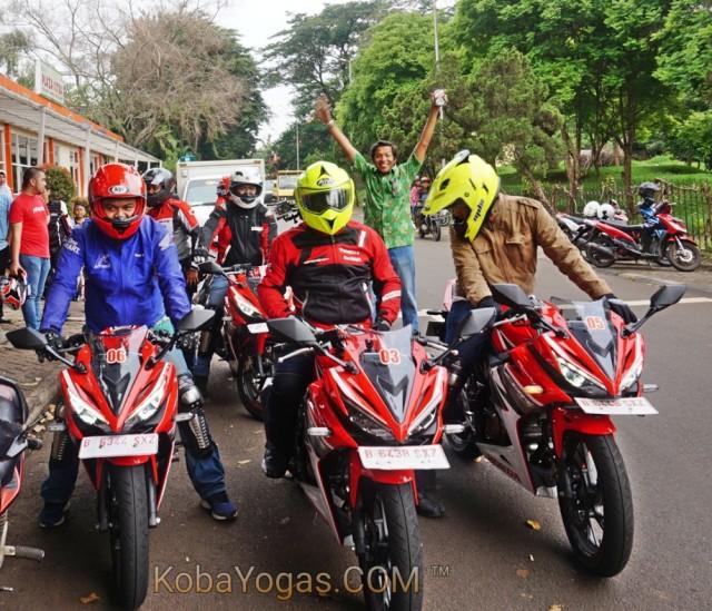 test ride All New CBR150R kobayogas