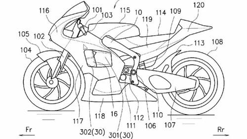 patent Suzuki GSX-R250