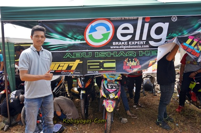 elig sponsor bekasi cornering