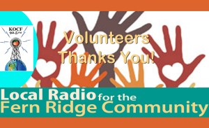 Volunteers Thank You