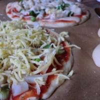 Vegane Spargel-Pizza und das Duell-der-Köpfe