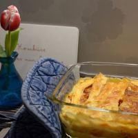 Gemüse-Lasagne mit selbstgemachten Lasagne-Platten