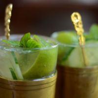 Die Mädchenküche kocht #3: Munich Mule - ein Cocktail aus Gin, Ginger Ale und Gurke