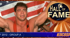 Kocosports Hall of Famer, Kurt Angle, says he wants to be inducted into the WWE Hall of Fame next