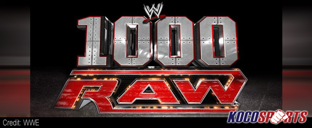 Video: Breaking coverage of WWE's 1000′th episode of Monday Night Raw – 07/23/12 – (Live @ 8PM EST.)