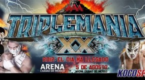 Video: Trailer for AAA TripleMania XX on August 5th 2012