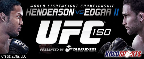 "UFC 150 ""Henderson vs. Edgar"" results – 08/11/12 – (Henderson bests Edgar by Split Decision)"