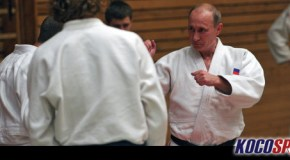 Russia's judo black belt and President Vladimir Putin backs wrestling for Olympics