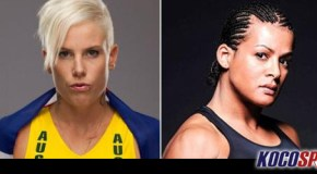Transgender MMA fighter Fallon Fox threatened Bec Hyatt backstage at Invicta FC 5