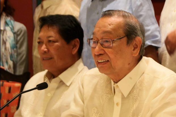 Prof. Jose Maria Sison, chief political consultant of the National Democratic Front of the Philippines.