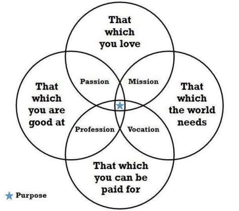 PassionPurposeProfessionVocationMission