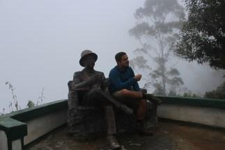 Chilling met mijn goede vriend Thomas Lipton