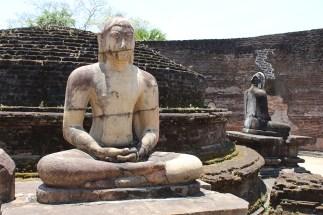 Boeddhabeeld in Polonnaruwa
