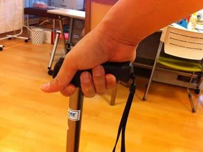杖の握り2