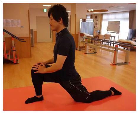 腸腰筋のストレッチ6