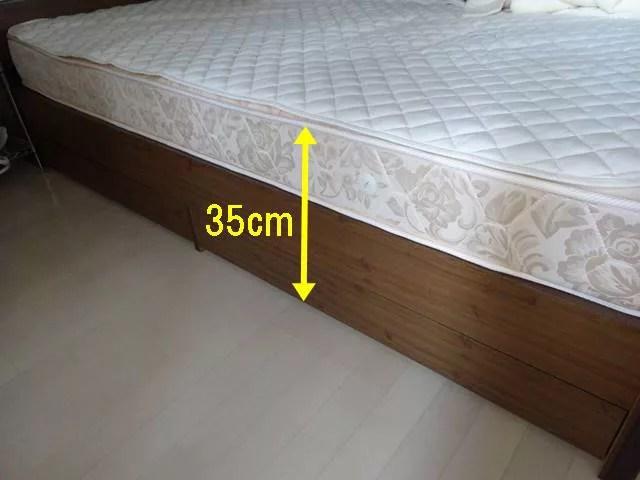 THATKA入院前に自宅で測るべきポイントベッド