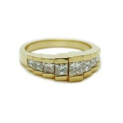 Small Crop Of Princess Cut Diamond Rings