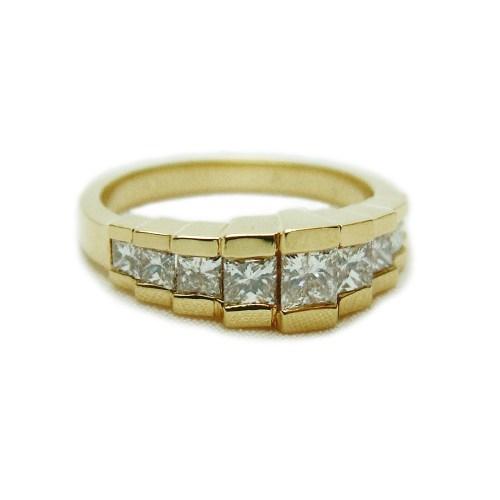 Medium Crop Of Princess Cut Diamond Rings
