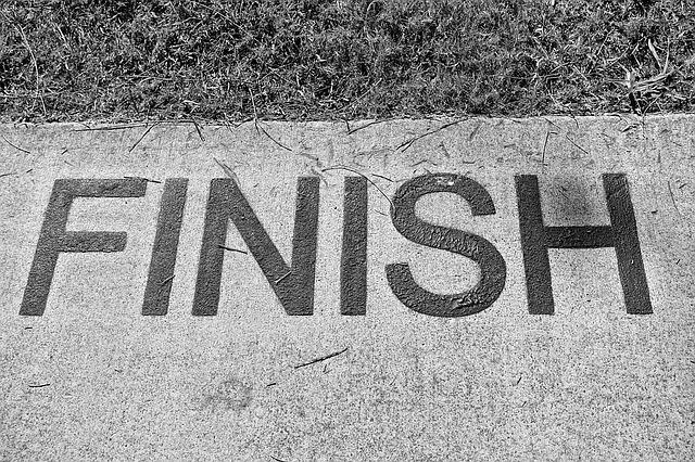 過去の未完了を完了させる。