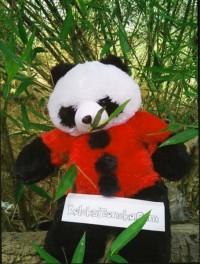 Jual Boneka Panda Warna Merah