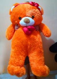 jual boneka teddy bear besar ukuran 1,3 meter
