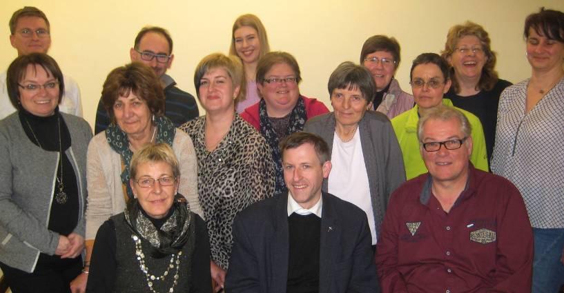 Kolping Vorstand 2016