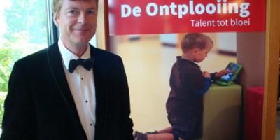 Thijs Rood bij de opening van De Ontplooiing