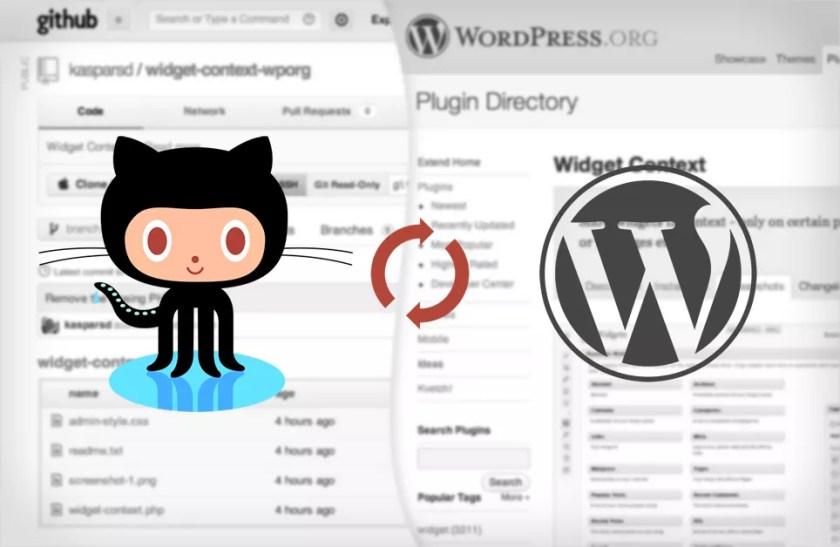 Использование Git и GitHub c Subversion (SVN) как зеркало при разработке плагина для WordPress