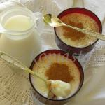 Vegan, Lactose Free and Gluten Free Ryzogalo (rice pudding)