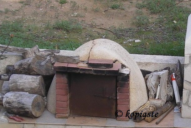 fournos village oven in Cyprus