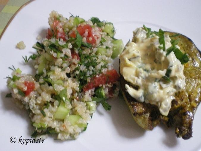 tuna and quinoa