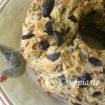 Vegan Butternut Squash Mandarin Cake with Butternut Squash – Almond Glaze