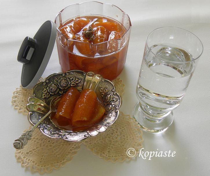 Orange spoon sweet 2