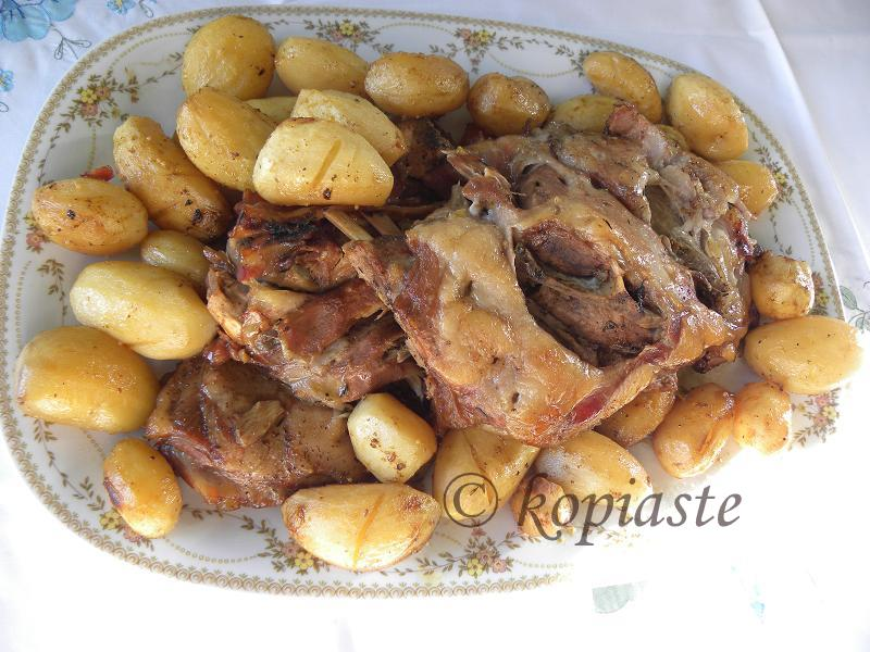 Wild Boar and Potatoes
