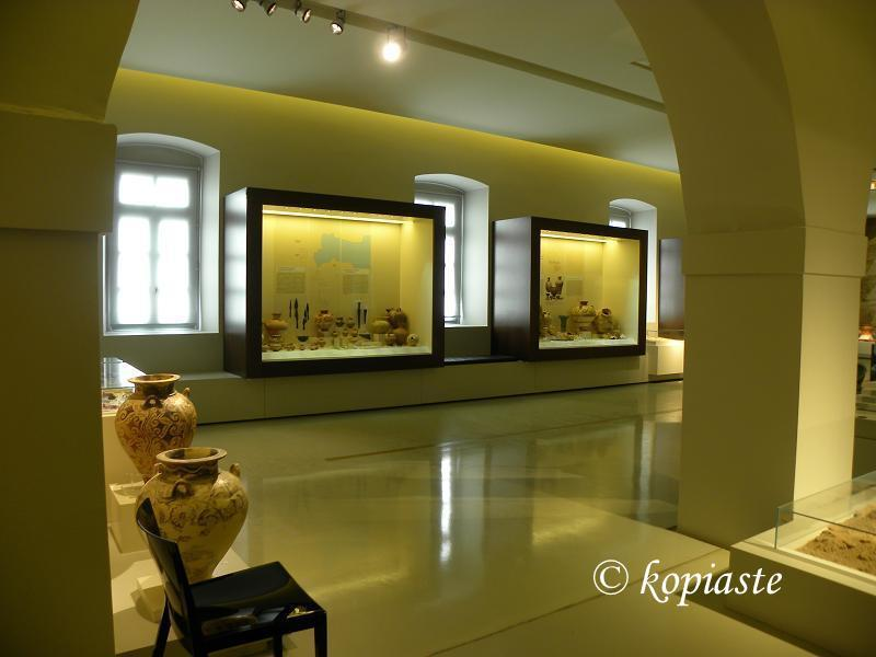 Archaeological Museum of Nafpllio inside