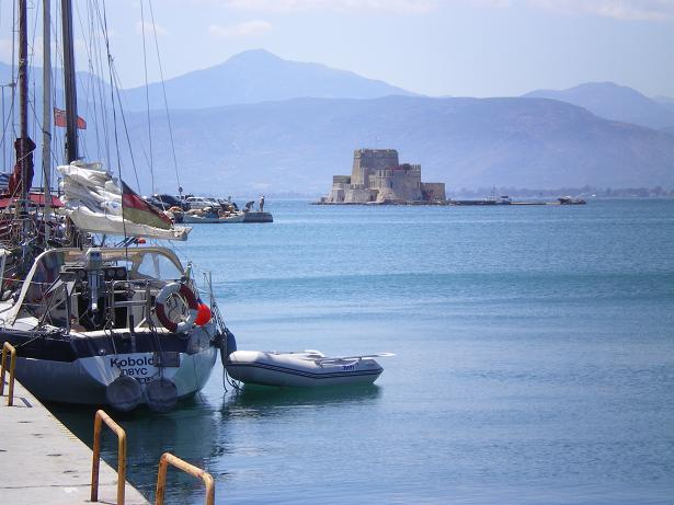 Bourtzi from port