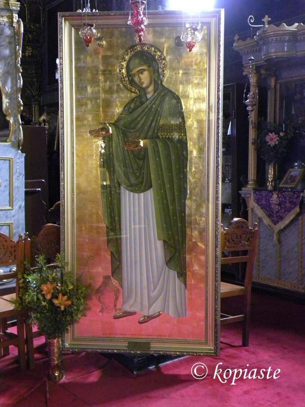 Icon of Panagitsa (Genesion tis Theotokou) Nafplion