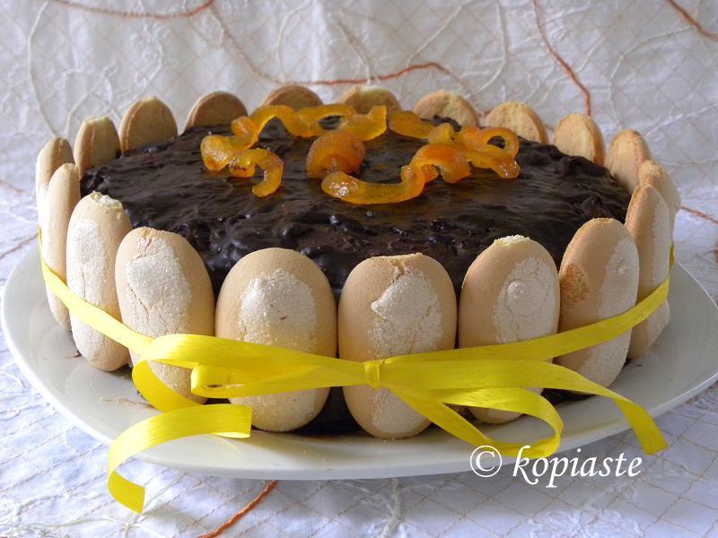 Jaffa Birthday Cake